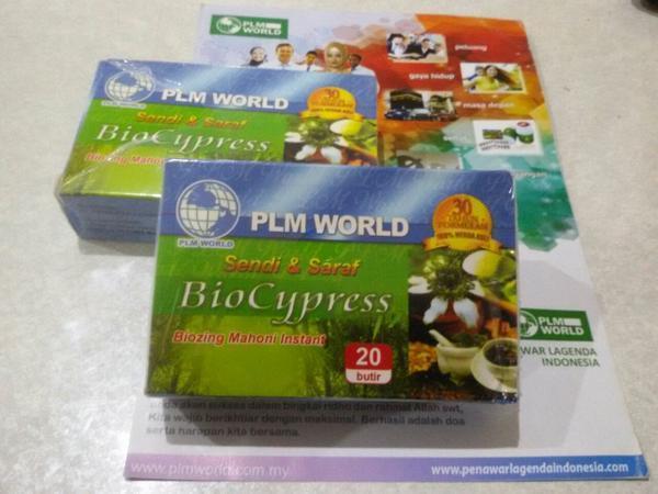 BioCypress Obat saraf dan sendi terbaik