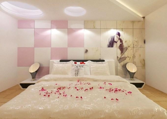 Dekorasi kamar pengantin simpel