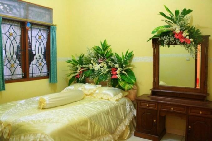 Dekorasi untuk kamar pengantin yang sempit