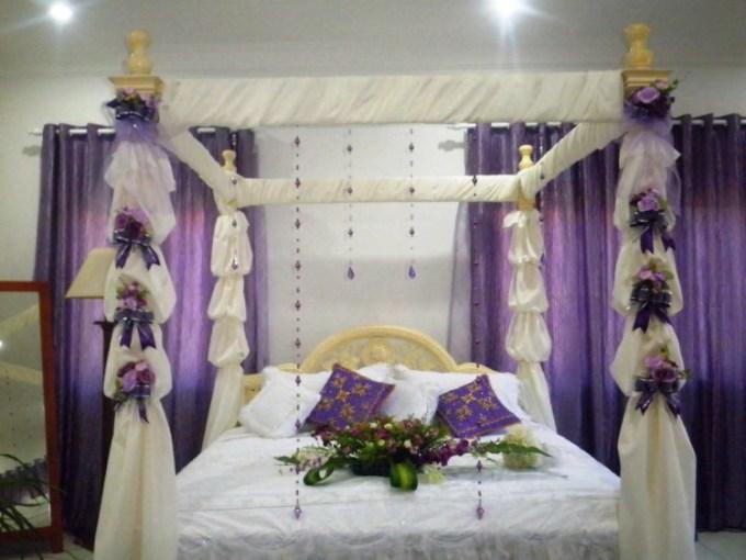 Kamar pengantin romantis
