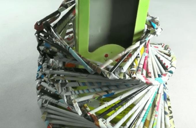 Tempat pensil jadi