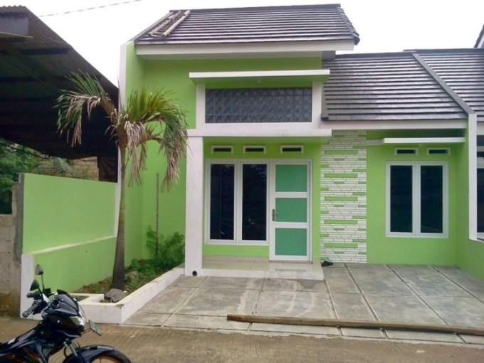 Cat Rumah Warna Hijau