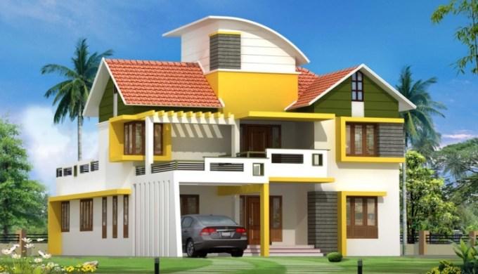 Desain Cat Rumah