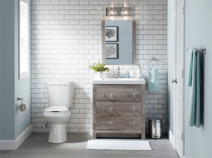 Keramik untuk dinding kamar mandi
