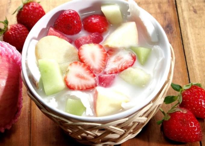 Resep es buah sederhana