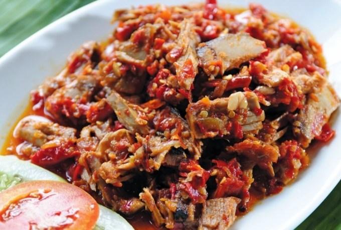 Cakalang Fufu Makanan Khas Manado