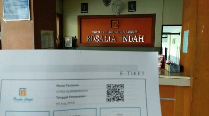 Beli tiket online Rosalia Indah