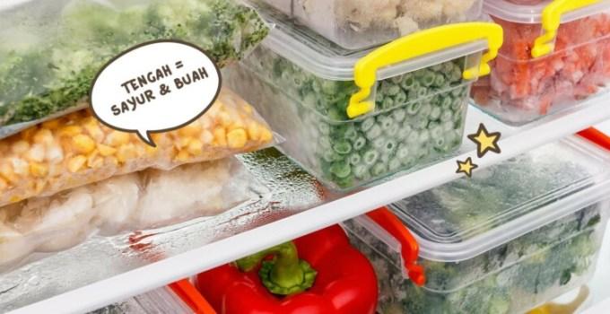 Cara menyimpan makanan di kulkas dengan baik dan benar
