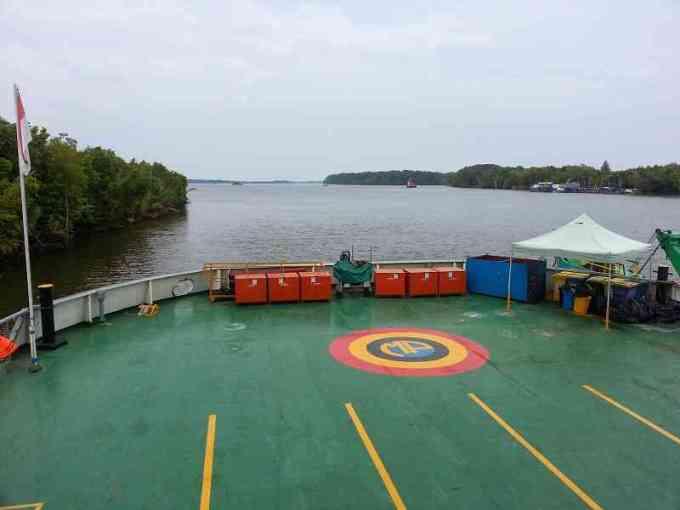 muster point di kapal
