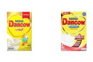 perbedaan susu dancow full cream fortigro dan enriched