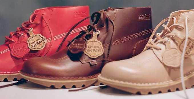 perbedaan sepatu kickers asli dan palsu