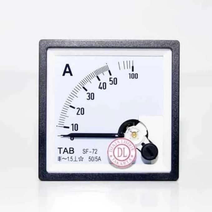 amperemeter analog sebagai alat ukur listrik
