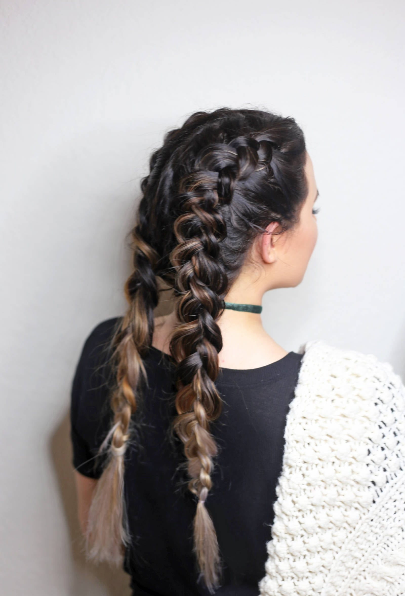 Double Dutch Braids For Beginners Beauty Tutorial Mash