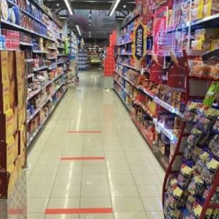 أمانة جدة تلزم مراكز التسوق بمسافة تباعد بين المتسوقين