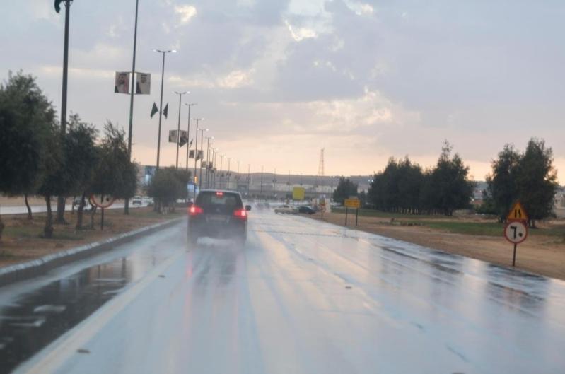 الطقس: أمطار رعدية مصحوبة برياح نشطة على 6 مناطق