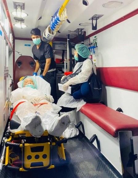 حرس الحدود ينقذ 4 أشخاص في عرض البحر
