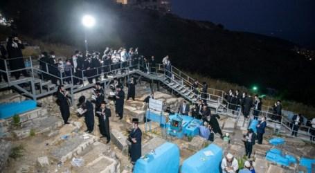 También durante la noche en el norte de Israel
