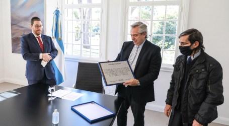 AMIA 26 años: Encuentro con el presidente Alberto Fernández en la Quinta de Olivos