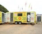 Destinado a vacunas corona: MDA ha inaugurado tres vehículos especiales
