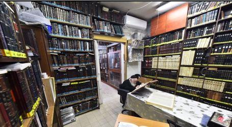 Bnei Berak en Pandemia, con la Torá siempre a lo alto.