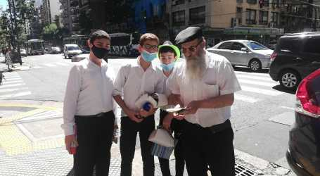 Una imagen del dia de Purim