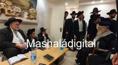 El Rab Itzjak Yosef visitó a la familia Embón