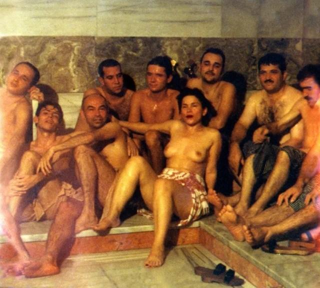 Sukran Moral / Hamam Performance Istanbul 1997