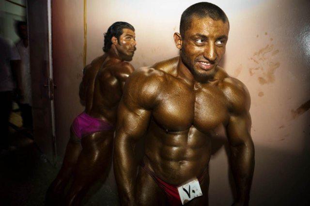 Tanya Habjouqa bodybuilders