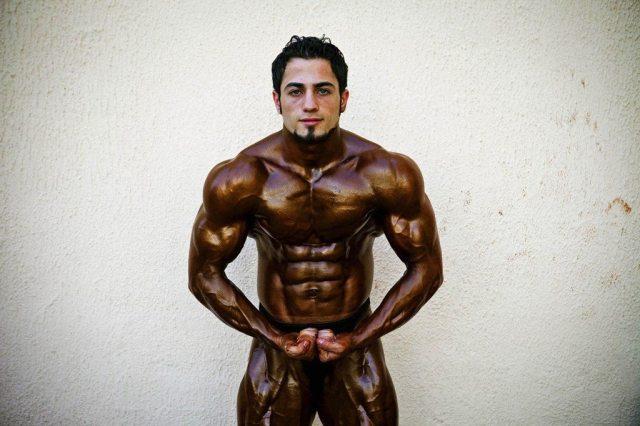Tanya Habjouqa bodybuilding