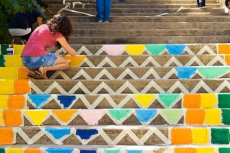 painting stairs beirut