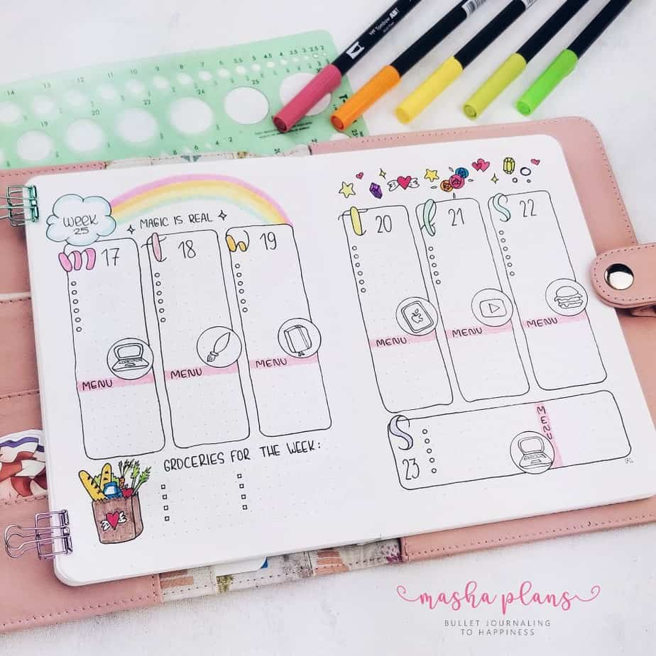300 Bullet Journal Page Ideas To Organize Your Life Masha Plans
