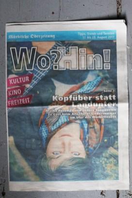 Märkische Oderzeitung Ankündigung