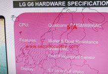 LG G6 slide partiaal 617x558 消息證實LG G6僅採用Snapdragon 821處理器