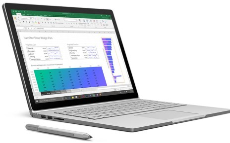 SurfaceBook Office V2 resize 搭載第8代Core i系列處理器 微軟可能近期內揭曉Surface Book 2