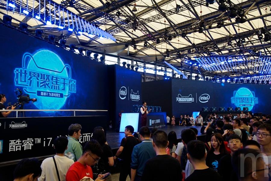 batch  DSC0220 resize 首次以品牌名稱為展館命名 Intel攜手硬體夥伴於ChinaJoy擴大展出