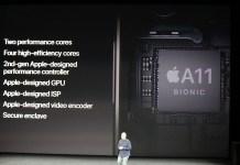 apple iphone 2017 20170912 11979 台積電首款7nm製程產品 蘋果A11X Bionic處理器將採8核心設計