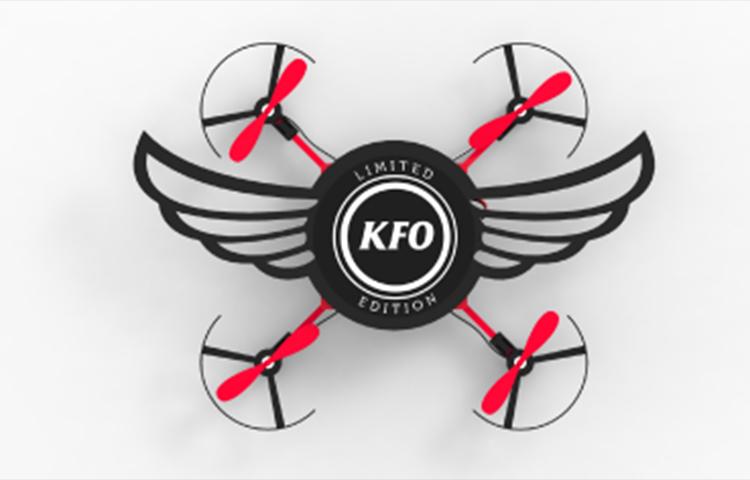drone gal 3 肯德基再次於印度玩創意宣傳 烤雞翅盒變成小型無人機