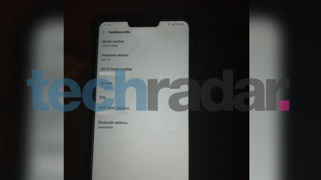 herheherw LG G7 ThinQ外觀再曝 搭載「瀏海」造型螢幕、人工智慧服務獨立按鍵