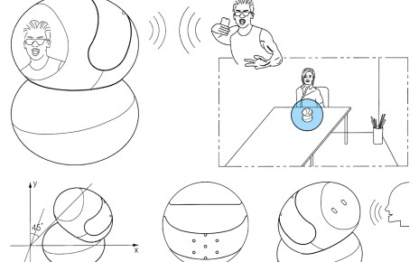 1880c4a1a13fb98 三星Bixby智慧喇叭專利設計圖像曝光 外觀像是迷你桌上機器人
