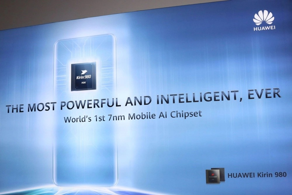 Huawei unveils the Kirin 980 processor with 7nm process