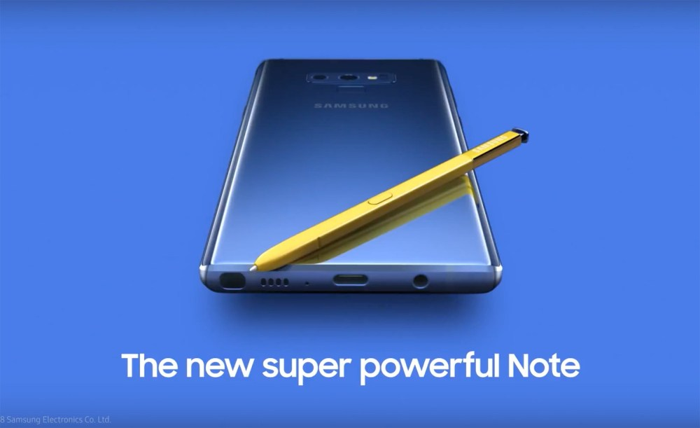 notefeat 1 Galaxy Note 9、Galaxy Watch更多消息曝光 確認新款S Pen支援無線充電