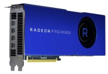 s 7e35e1db8e4c449087cf3c847d99aee6 AMD揭曉新款專業繪圖卡Radeon Pro WX 8200,1000美元也能有更好工作站級運算表現