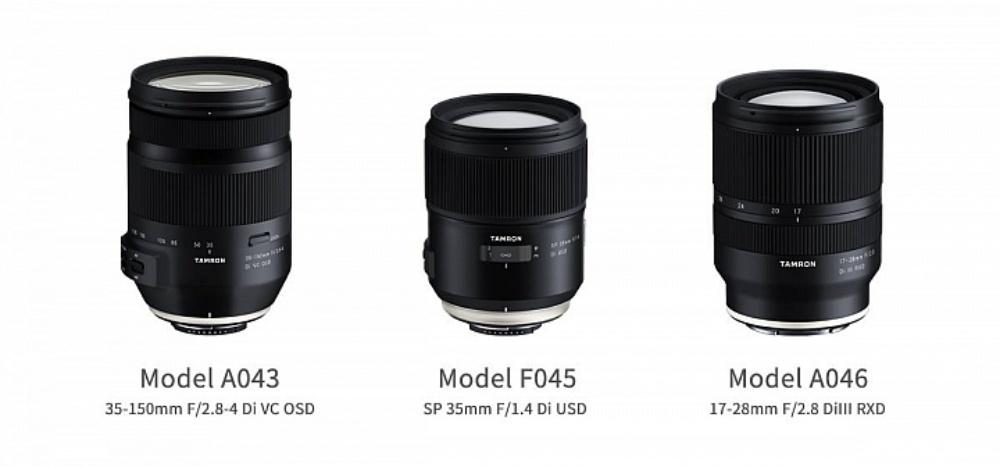 t01 Tarmron揭曉三款涵蓋實用焦段新鏡 其中對應Sony E接環全片幅機種
