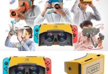 01 down 用Nintendo Switch遊玩VR內容,任天堂打造《任天堂實驗室 VR套裝》