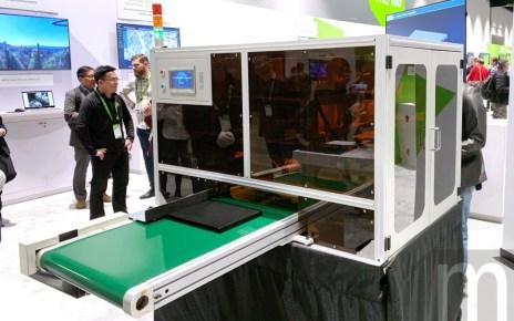 IMG 4592 富士康藉電腦視覺加速代工產線運作效率,未來目標實現全自動化應用