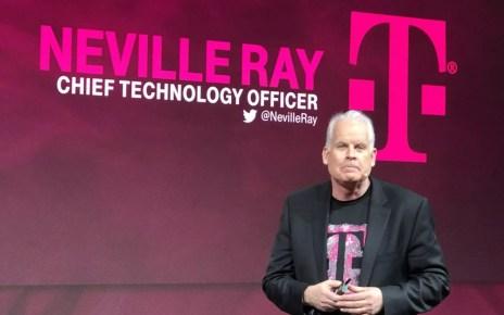 t mobilecto nevillleray T Mobile認為未來5G網路資費不會造成用戶太大負擔
