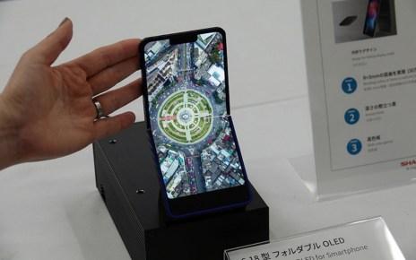 02 o 1 夏普螢幕可凹折手機可能成真,更準備打造螢幕可凹折筆電、平板