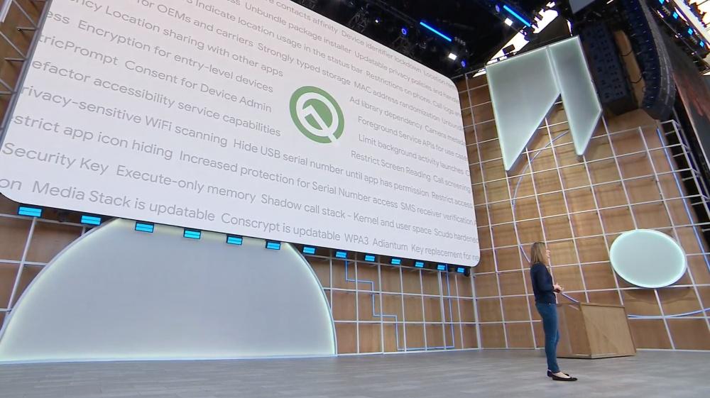 01 1 Android Q加入更多裝置端人工智慧應用、支援新技術、安全更新更快
