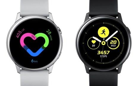 Galaxy Watch Active銀 side 三星可能推出新款Galaxy Watch 2,或許恢復轉環操作介面
