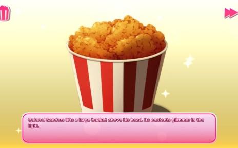 6 1 肯德基美型戀愛遊戲登上Steam平台,依然不忘宣傳炸雞